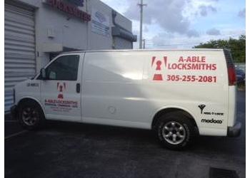 Miami locksmith  A-Able Locksmiths
