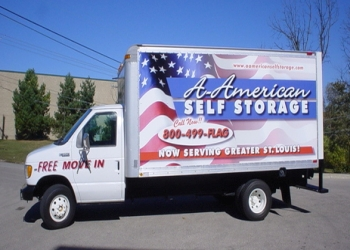 St Louis storage unit A-AMERICAN SELF STORAGE