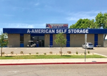 Fresno storage unit A-American Self Storage