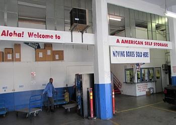 Honolulu storage unit  A-American Self Storage