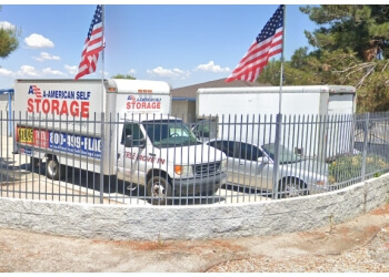Palmdale storage unit A-American Self Storage
