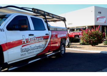 Phoenix garage door repair A-Authentic Garage Doors Service Co.