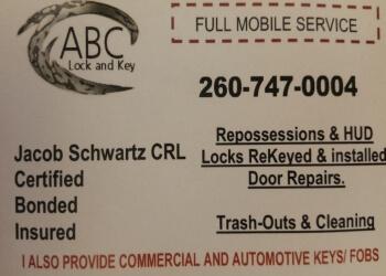 Fort Wayne 24 hour locksmith ABC Lock & Key Inc.