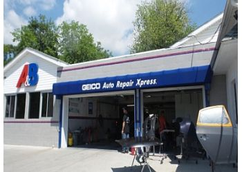 New York auto body shop A&B Collision Center