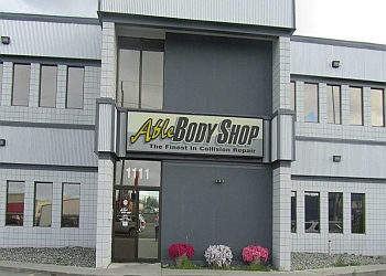 Anchorage auto body shop ABLE BODY SHOP