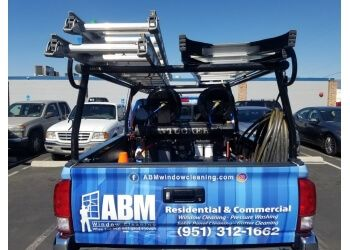 San Bernardino window cleaner ABM Window Cleaning
