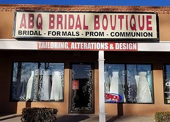 Albuquerque bridal shop ABQ Bridal Boutique and Alterations