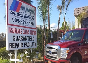 Fontana auto body shop ABS Collision Center, Inc.