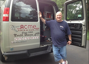 New Haven locksmith ACME LOCK & SAFE INC.