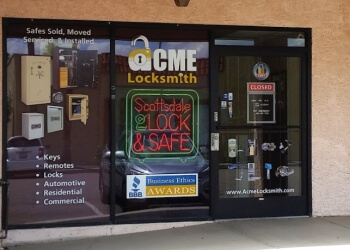 Scottsdale locksmith ACME Locksmith