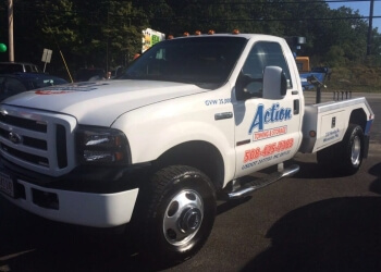 Worcester towing company ACTION TOWING
