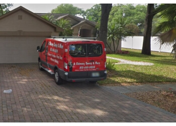 Tampa chimney sweep A Chimney Sweep & More