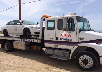 Lancaster towing company A & D Towing
