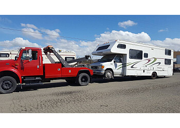 San Diego towing company A & D Towing