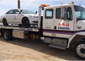 Palmdale towing company A&D Towing Palmdale
