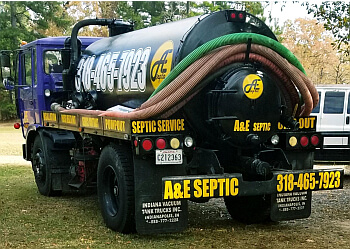 Shreveport septic tank service A&E Contractor and Waste Management