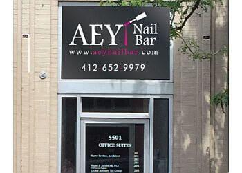 Pittsburgh nail salon AEY Nail Bar