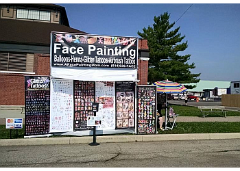 Columbus face painting A Face Painting Mom