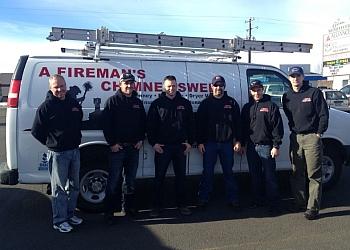 Boise City chimney sweep A Fireman's Chimney Sweep
