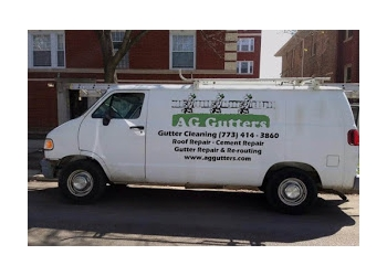 Chicago gutter cleaner AG Gutters