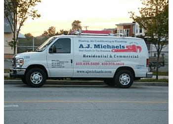 Baltimore hvac service A.J. Michaels