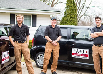 Peoria pest control company A & J Pest Control
