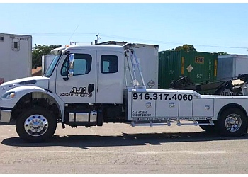 Sacramento towing company AJ'S Towing