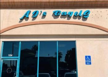 San Bernardino bagel shop AJ's Bagels