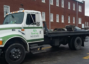 Louisville towing company AJ's Towing Service