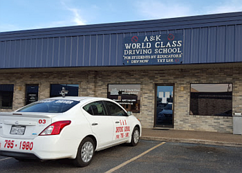 Laredo driving school A & K world Class Driving School