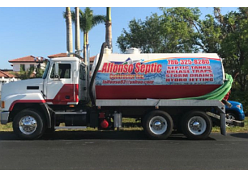 Hialeah septic tank service ALFONSO SEPTIC CONTRACTOR INC.
