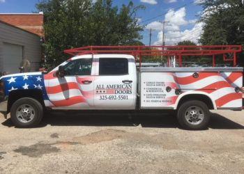 Abilene garage door repair ALL AMERICAN DOORS INC.
