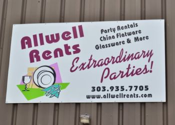 Denver event rental company ALLWELL RENTS