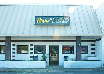 Virginia Beach nail salon ALOHA NAILS & SPA