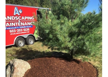 Manchester landscaping company A+ Landscaping