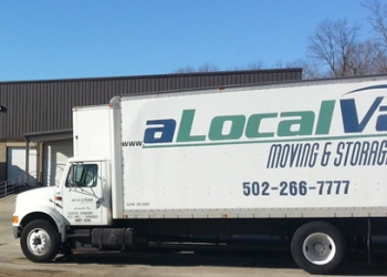 Louisville moving company A Local Van Moving & Storage, LTD.Co.