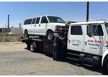 Rancho Cucamonga towing company AM PM Towing Company