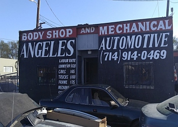 Santa Ana auto body shop ANGELES-AUTOMOTIVE