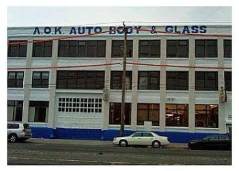 Philadelphia auto body shop A.O.K. Auto Body & Glass Inc.