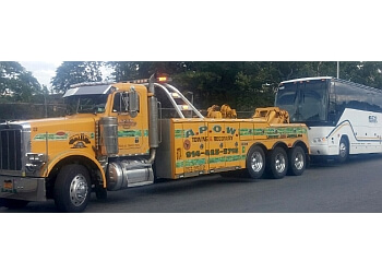 Yonkers towing company A.P.O.W Towing & Recovery