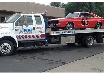 Sioux Falls towing company A Plus Towing & Repair