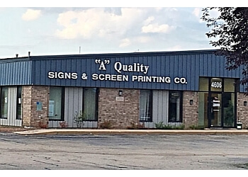 Madison sign company A Quality Signs & Screen Printing Company