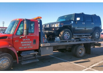 Lakewood towing company A QUICK RESPONSE TOWING LLC