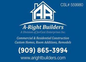 Pomona home builder A-RIGHT BUILDERS