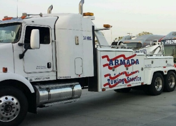 San Bernardino towing company ARMADA TOWING