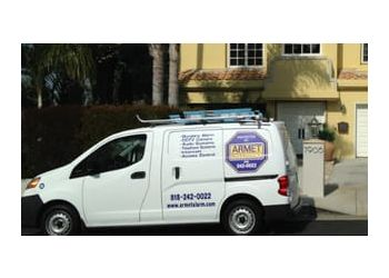 Glendale security system ARMET ALARM & ELECTRONICS, INC.
