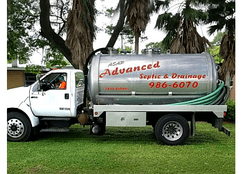 Tampa septic tank service ASAP Advanced Septic & Drainage