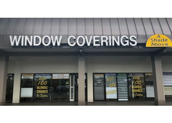 Fort Lauderdale window treatment store A Shade Above Window Fashions