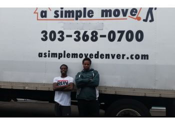 Aurora moving company A Simple Move, LLC.