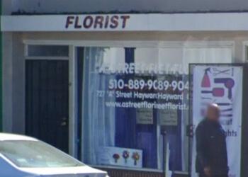 Hayward florist A Street Florist